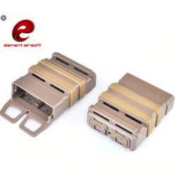 5.56 FAST MAG (Poche chargeur) type M4 Tan - ELEMENT