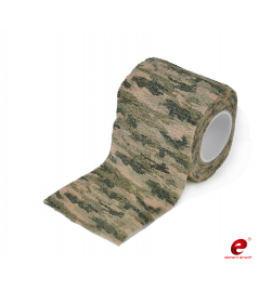 Bande de camouflage Crisp Green Camo - ELEMENT AIRSOFT