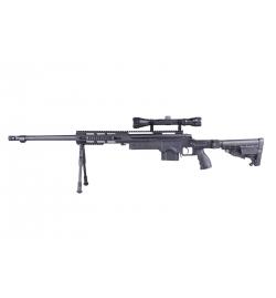 Sniper MB4412D Noir avec lunette de visée et bipied - WELL