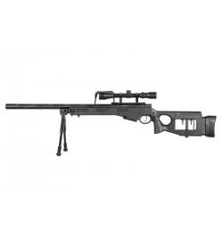 Sniper MB4420D Noir avec lunette de visée et bipied - WELL