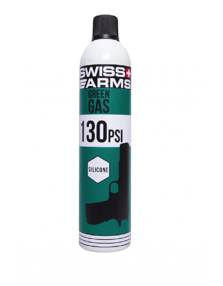 "Gaz siliconé (130PSI) ""DE"" 760ml - SWISS ARMS"