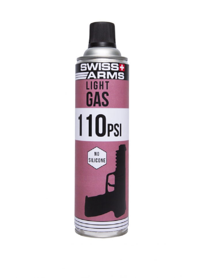 "Gaz sec (130PSI) ""5-7"" light 600ml - SWISS ARMS"