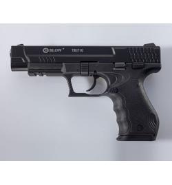 TR17 02 noir 9mm balle à blanc - BBLOW