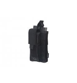 Poche 1 chargeur M4 + 1 chargeur PA (arme de poing) Noir - GFC