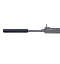 Silencieux noir 35X250mm - AE