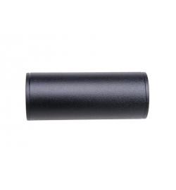 Silencieux universel noir 40X100mm - AE