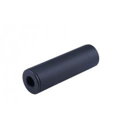 Silencieux universel noir 35X100mm - AE