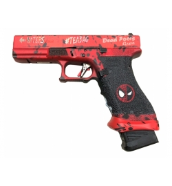Ascend Airsoft x WE 17 Series DEADPOOL GBB gaz - WE