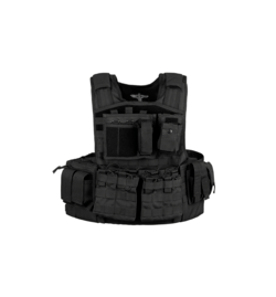 Gilet MOD Carrier COMBO Noir - INVADER GEAR
