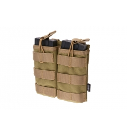 Double Poches chargeurs type M4/AK/G36 tan - GFC