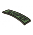 Patch PVC SNIPER OD - JTG