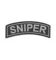 Patch PVC SNIPER Noir - JTG