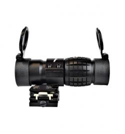 Lunette Magnifier 3x30 noir - JS-TACTICAL