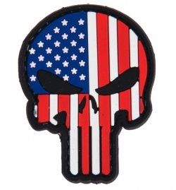 "Patch PVC ""Skull USA"" - LANCER TACTICAL"