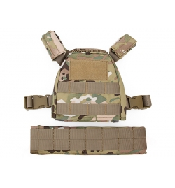 Gilet Plate Carrier Multicam pour enfant - BIG FOOT