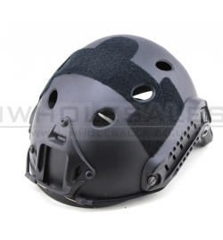 Casque Noir (type PJ Round Hole PRO) - BIG FOOT