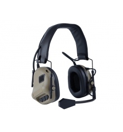 Casque micro antibruit Fifth generation Tan - BIG FOOT