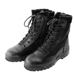 Chaussures/bottes Patriot Style Outdoor avec Zip Noir - COMMANDO