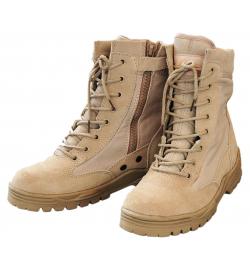 Chaussures/bottes Patriot Style Outdoor avec Zip Tan - COMMANDO