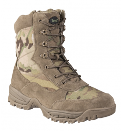 Chaussures/bottes Tactical M.YKK avec Zip multicam - TEESAR