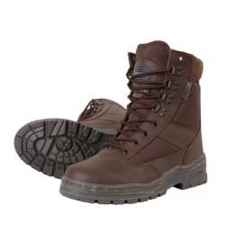 Chaussures/botte Patrol  Half Leather/Half Nylon Marron - KOMBAT.UK
