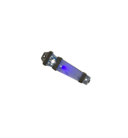 V-LITE marqueur lumineux velcro Bleu - ELEMENT