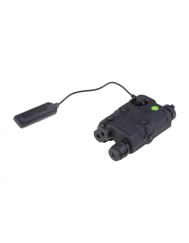 Boitier PEQ noir lampe/laser vert - FMA
