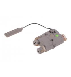 Boitier PEQ Tan lampe/laser vert - FMA