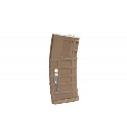 Chargeur Hi-cap 350 billes Tan pour M4/M16 - TORNADO