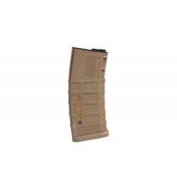 Chargeur Low-cap 70 billes Tan pour M4/M16 - TORNADO