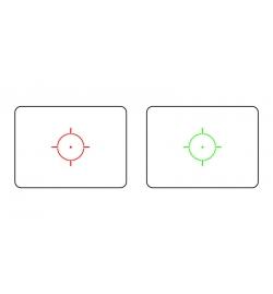 Point rouge/vert EOTECH 552 Holosight avec fixation QD noir - JS-TACTICAL