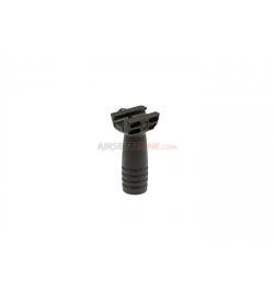 Poignée GRIP verticale compact Noir - ARES