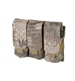 Triple Poches chargeurs type M4/M16 - MULTICAM