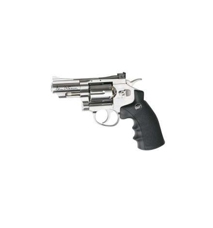 "AIRGUN DAN WESSON - C02-2.5"" CHROME FULL METAL - 4.5MM - ASG"