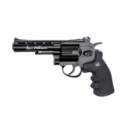 "AIRGUN DAN WESSON - C02 4"" NOIR FULL METAL - BBS 4.5MM - ASG"