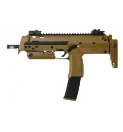 MP7 H&K A1 - GAZ SHOOT UP SEMI ET FULL AUTO - TAN - BLOWBACK 1 JOULE
