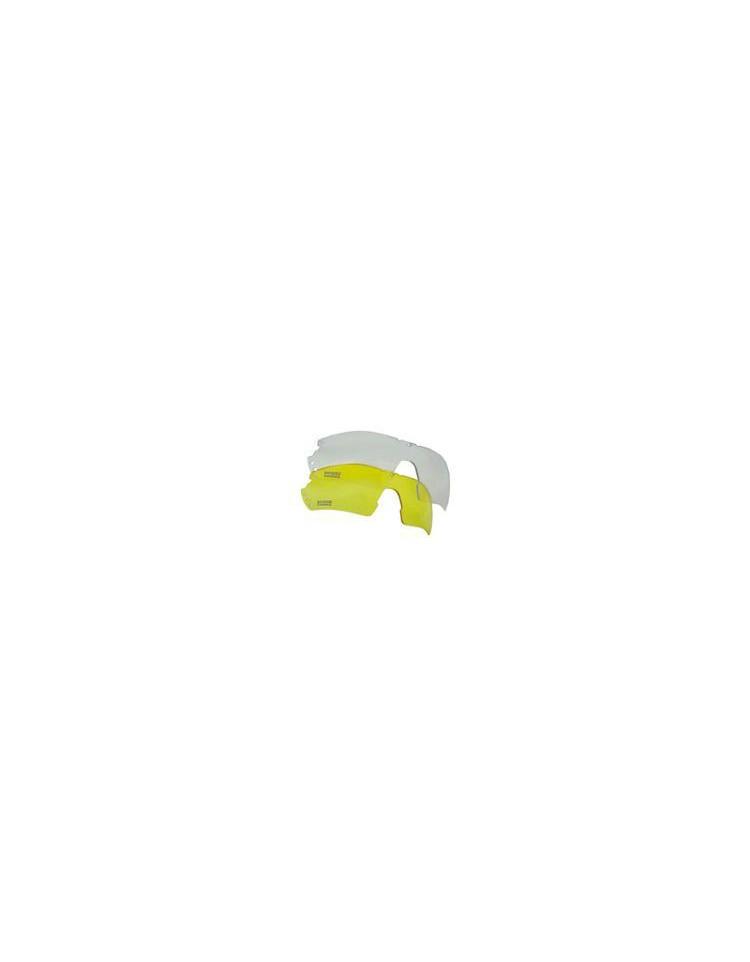 Verres de remplacement blanc & jaune pour Lunette Tactical - SWISS ARMS