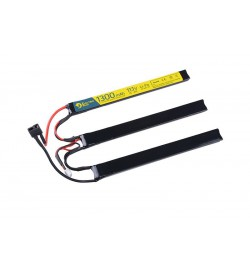 BATTERIE LIPO 11,1V 1100 mah 3 sticks - A2PRO