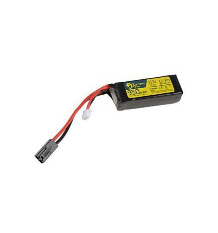 BATTERIE LIPO 11,1V 950mah - ELECTRO RIVER