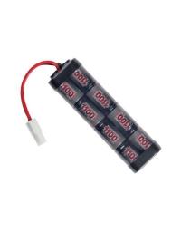 Batterie NiMH 9,6v 1100mAh - ASG