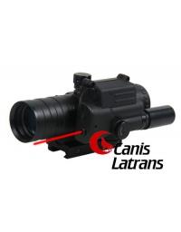 Lunette de visée + laser 3.5X32  - CANIS LATRANS