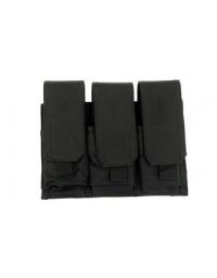 Triple Poches chargeurs type M4/M16 Noir -GFC
