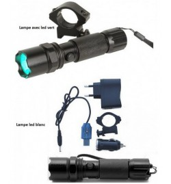 Lampe LED Verte rechargeable 250Lu - SWISS ARMS