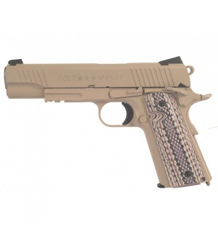 Colt 1911 tan
