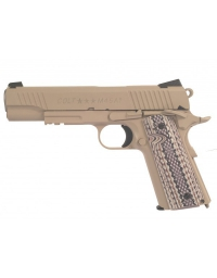 Colt 1911 M45 A1 RAIL GUN Co2 Tan