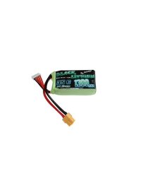 Batterie LiPo 11,1V 1300mAh 35C- BLACK LITHIUM