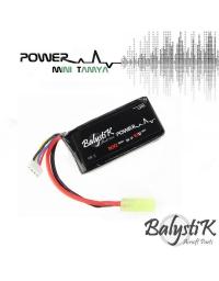 Batterie Lipo 1100mAh 11,1V 20C - BALYSTIK