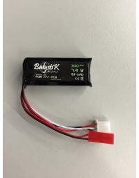 Batterie micro Lipo 300mAh 7,4V 20C pour HPA - BALYSTIK