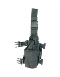 Holster de cuisse ajustable Noir - VIPER TACTICAL