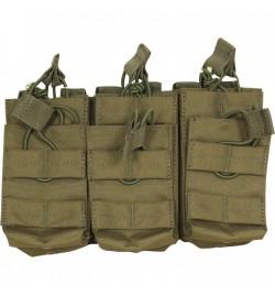 Triple poche 6 chargeurs M4/M16 - VIPER TACTICAL